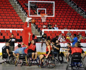 """Bridge II Sports"" is an excellent organization demonstrating that people with physical disabilities can participate in rigorous activities."