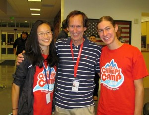 I got to meet a leading woman skater and Harvard student Christina Gao, and the new 2014 US mens silver medalist Jason Brown at the US Olympic Training Center in Colorado Springs last summer.