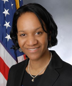 EEOC Commissioner Charlotte A. Burrows.  (Photo courtesy of EEOC.gov)