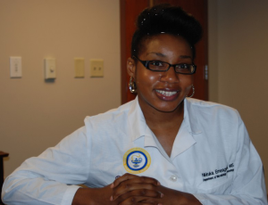 Students, such as Nkiruka Emeagwali, a medical student at Meharry Medical College in Nashville, Tennessee who was featured in an America - The Diversity Place online story, can be trained to provide health care to under-served populations