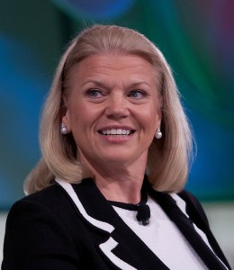 Ginni Rometty as CEO of the highly respected huge global company of IBM serves as an excellent role model for women aspiring to senior leadership roles in the corporate world.