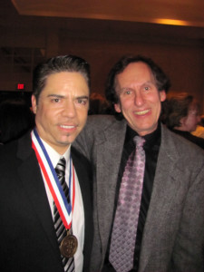 I had the wonderful privilege of attending Rudy Galindo's induction ceremony into the US Figure Skating Hall of Fame in 2013.