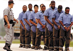African Americans in the USA are incarcerated at nearly six times the rate of Whites