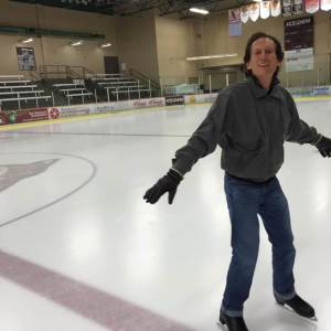 Now I am very comfortable on the ice, and hate to leave once I start!