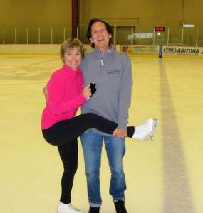 A real highlight of my skating journey has been skating with American icon Olympic Champion Dorothy Hamill at her skating camp