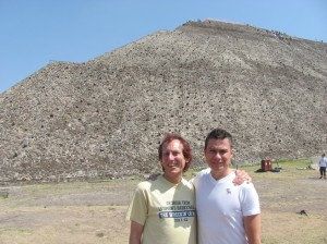 It was so great to reunite with long-time Mexican IBM friend Gabriel Gomez and tour Teotihuacan