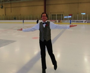 Happy New Year from Stan Kimer, President of Total Engagement Consulting by Kimer and aspiring competitive adult figure skater!