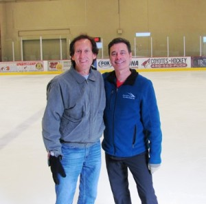 I have so much enjoyed being coached by World Champion Randy Gardner at the past two Dorothy Hamill Adult Fantasy Figure Skating Camps.