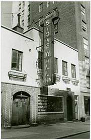 The Stonewall Inn in Greenwich Village, New York City, Universally considered the beginning of the modern Gay Rights Movement in the US