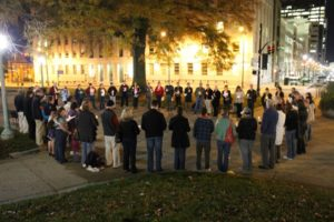 The 2012 Transgender Day of Remembrance held at the Old State Capitol Building in Raleigh