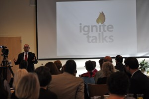 Kevin McDonald, founder and CEO of TROSA, was the second speaker of the Ignite series