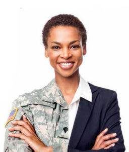 Let's not forget that an increasing number of veterans are women who are also looking for employment after their military service.