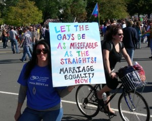 gay marriage poster