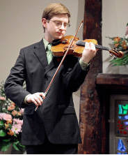 Tyler was a gifted violinist and earned in seat in Rutgers University's esteemed orchestra as a freshman.