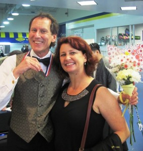 With my coach Paula McKinley after competing in the Dogwood Open in Raleigh this past June.